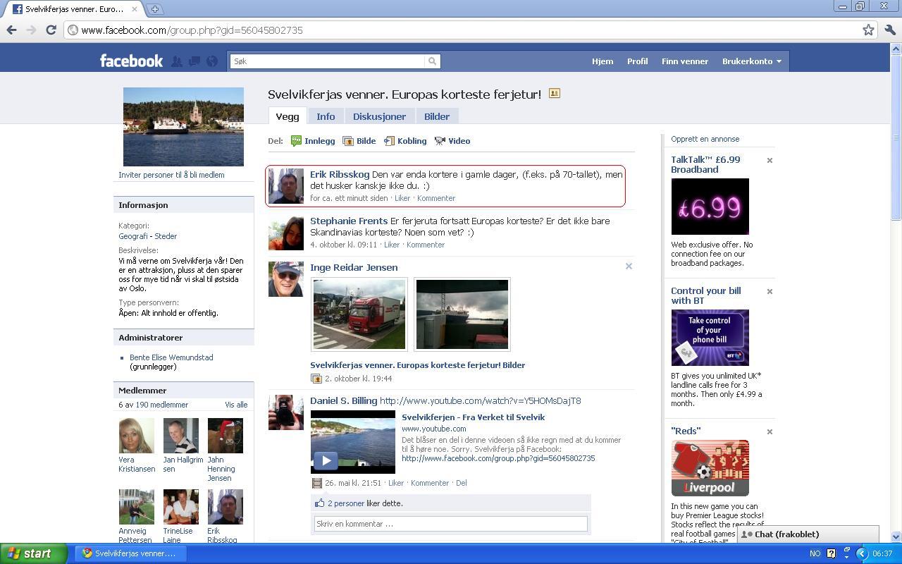 svelvikferja facebook