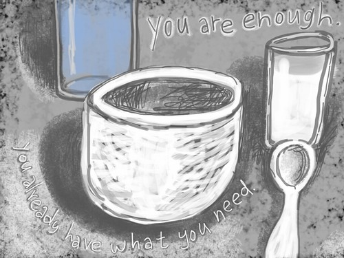 You Are Enough by Peter Durand