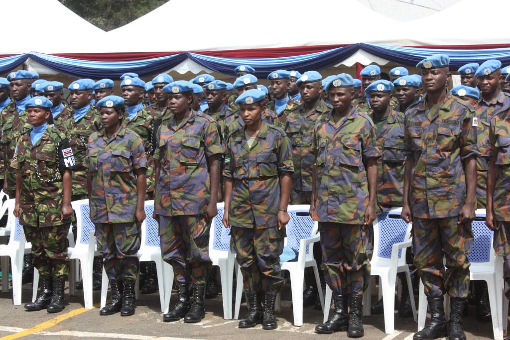Kenyan Peacekeepers