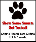 Canine Health Test Clinics