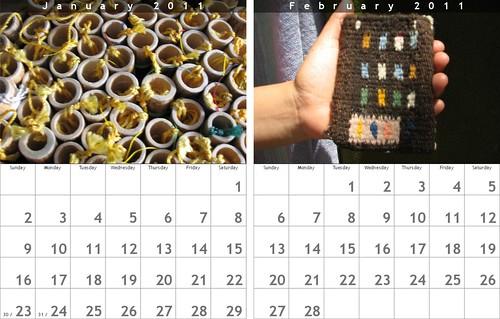 Oaxaca Calendar: January-February 2011