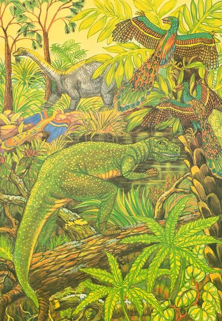 Sneaky Allosaurus