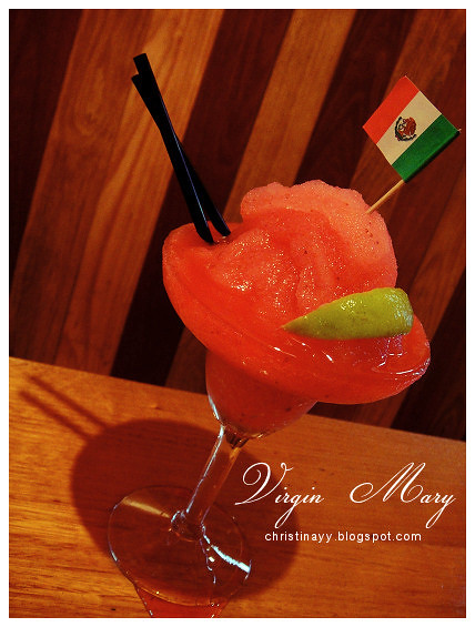 Montezuma's Mexican Restaurant: Tequila Martini
