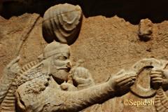 Ardar (Sepideh!) Tags: march persian iran  persia empire pars 2010 reliefs fars sepideh ahuramazda sassanid flywhisk naqsherostam  ohrmazd theringofkingship ardashiri sassanidreliefs theinvestiturereliefofardashiri  ardar