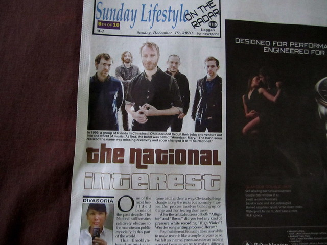 The National for On the Radar