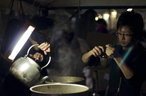 Keio Mita Festival 2010 - Pork soup (豚汁)