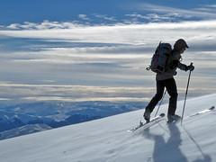Scialpinismo Laga - Monte Gorzano da Cesacastina per la Costa delle Troie