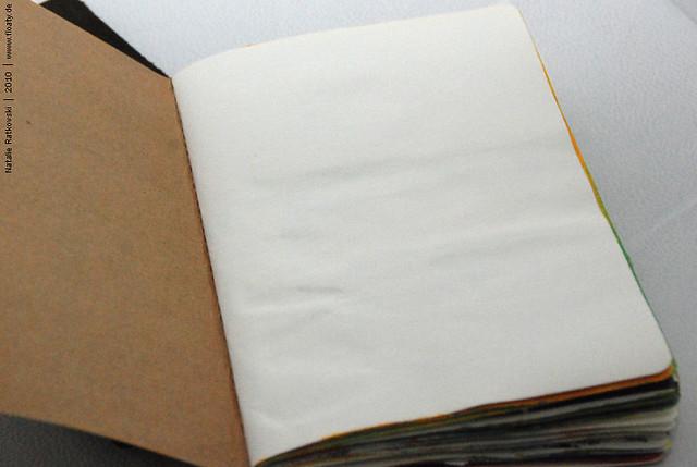 Sketchbook and tools