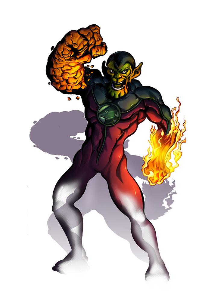 SuperSkrull by Pedro Potier