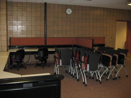 Old CVGA room - Empty!