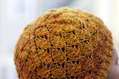 Foliage hat (reeniebeanie) Tags: hat knitting lace foliage knitty codex schmendrick sanguinegryphon