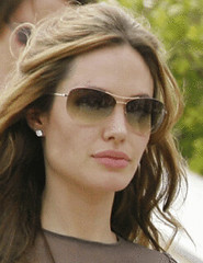 Angelina Jolie fashion eyeglasses- Tom Ford