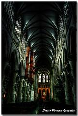 Cathédrale Saint-Michel et Gudule de Bruxelles - Belgium (sergio.pereira.gonzalez) Tags: brussels church sergio photoshop canon cathedral belgium belgique catedral iglesia bruxelles cathédrale bruselas gonzalez belgica eglise hdr pereira photomatix 400d tonnemapping cathédralesaintmicheletguduledebruxelles