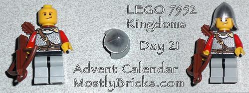 LEGO 7952 Kingdoms Advent Calendar Day 21