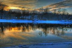 Cedar River Snow