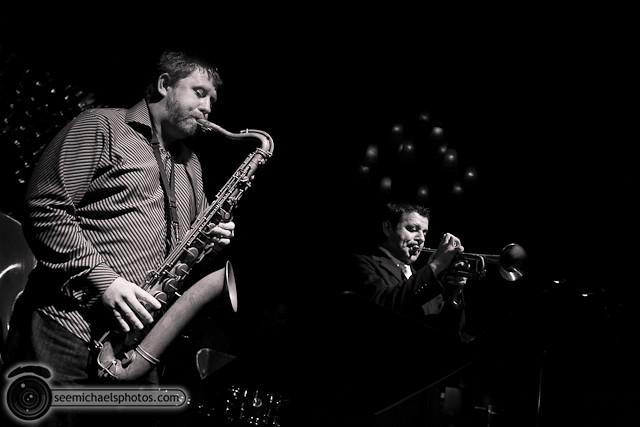 Jason Robinson Quintet at Dizzy's 121810 © Michael Klayman-008
