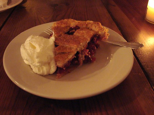 Cranberry pie from Four & Twenty Blackbirds