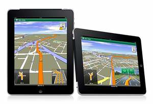 Navigon MobileNavigator iPad
