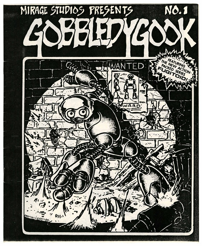 "MIRAGE STUDIOS PRESENTS ""Gobbledygook"" #1  (( 1984 )) [[ Courtesy of Heritage Auction Galleries ]]"