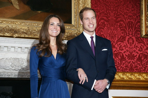 Prince William and Miss Catherine Middleton announce their engagement