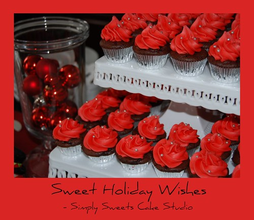 Happy Holidays from Simply Sweets Cake Studio