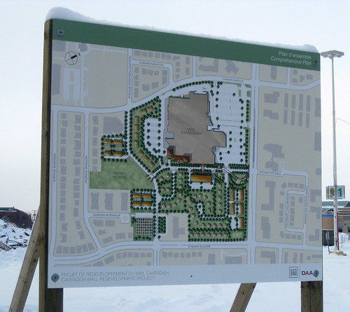 Cavendish mall redevelopment plans