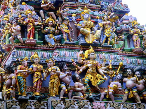 Sri Veeramakaliamman Temple, Little India, Singapore