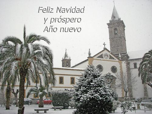 """Navidad """"Plaza de la Iglesia"""" Pozoblanco"""