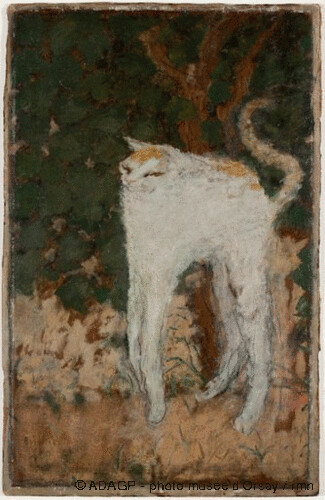 Le chat blanc, Pierre Bonnard, 1894