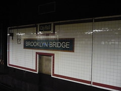 City Hall/Brooklyn Bridge (woofiegrrl) Tags: newyorkcity history nostalgia transit subways forgottenny oldcityhall transitmuseum