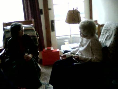 Denise and Gram talk on Christmas 2010
