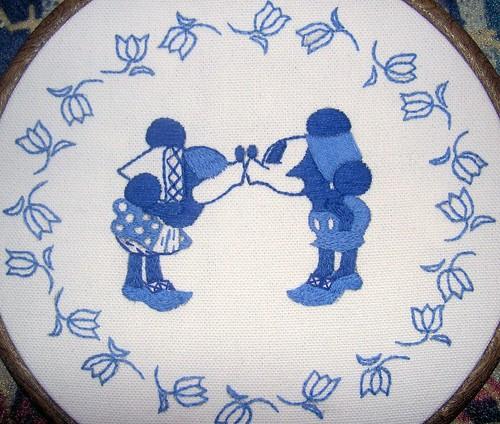 Delft plate # 2