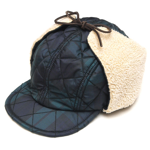 Rugby / Gavin Quilted Blackwatch Cap