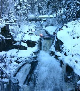 Winter 2010 - Die Triberger Wasserfälle , 022/906