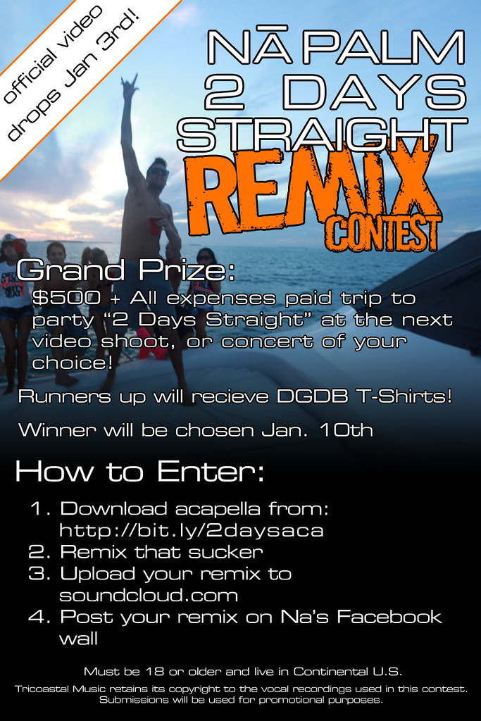 CONTEST: NA PALM - 2 DAYS STRAIGHT [The Remix]