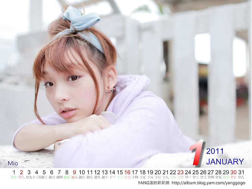 2011月曆(人像篇)
