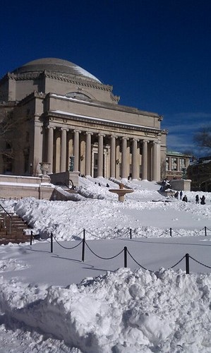 columbia during snow storm