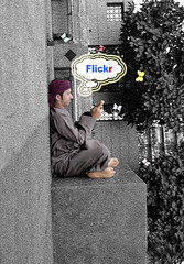 Another World (.ღ♫°Qanas°♫ღ.) Tags: world new color mobile turn idea nikon flickr shot uae cartoon gray creative another abu dhabi addiction edit adel 2010 qanas 30fav 20fav d3000