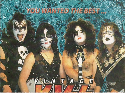 12/30/05 Vintage Kiss @ Prime Time, Burnsville, MN (Poster 1 - Top)