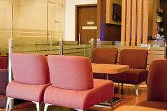 Seating Area at Lounge (Chronovial) Tags: indonesia airport lounge jakarta soekarnohatta mandiri