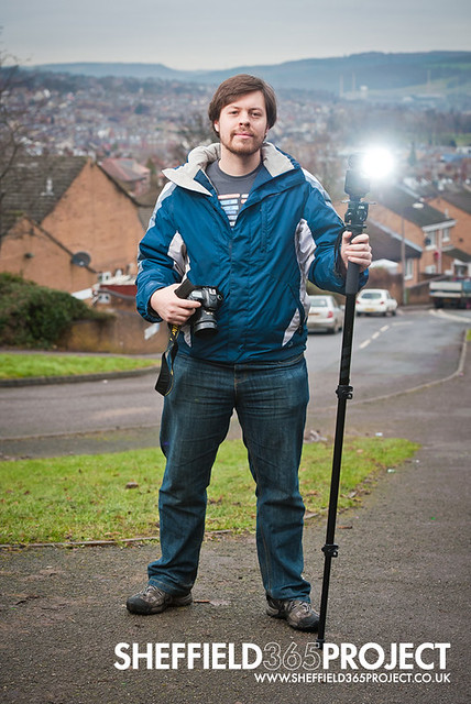 Luke Avery, the photographer behind the Sheffield 365 project