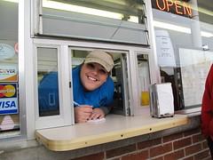service with a smile (birchloki) Tags: family ohio people edon dairytreat edonohio
