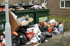 Christmas leftovers - 001/365 (Jason Webber) Tags: christmas london january rubbish boxes recycling sydenham londonist 2011 jasonwebber project36612011