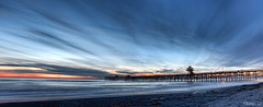 No End (Didenze) Tags: blue light panorama texture clouds pier dynamic dusk perspective explore fusion sanclemente frontpage canon450d didenze