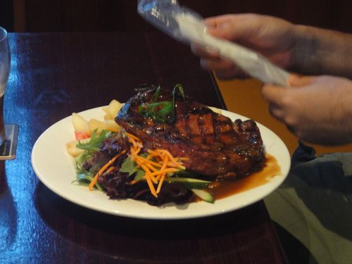 Erskineville Hotel: Scotch fillet