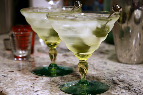 new martini glasses