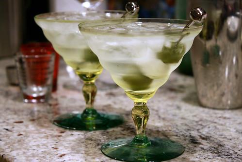 new martini glasses