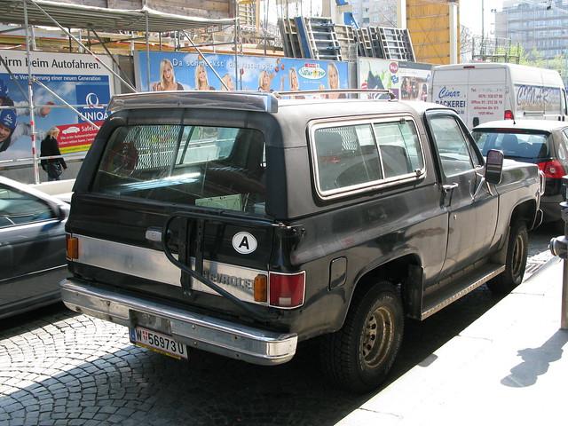 vienna wien chevrolet car austria k5blazer eurotrip09