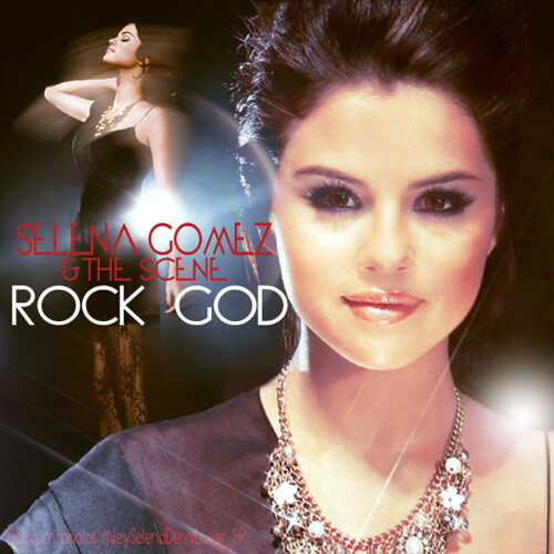 selena gomez rock god album cover. selena gomez rock god.