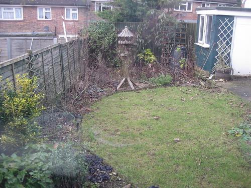 Lower lawn 04/01/2011